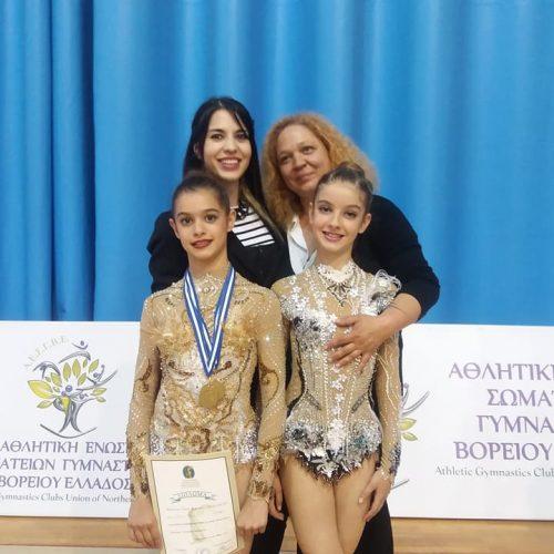 Τρία χάλκινα μετάλλια η Κιάτση στους τελικούς αγώνες Ρυθμικής Γυμναστικής