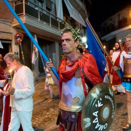 Οι δωδεκαθεϊστές στο Λιτόχωρο, στους πρόποδες του βουνού των θεών, τον Όλυμπο