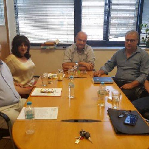 Δελτίο Τύπου: Φρ.Καρασαρλίδου, Χ. Αντωνίου και Γ. Σηφάκη - Συνάντηση με τον Πρόεδρο και τον Αντιπρόεδρο του ΕΛΓΑ