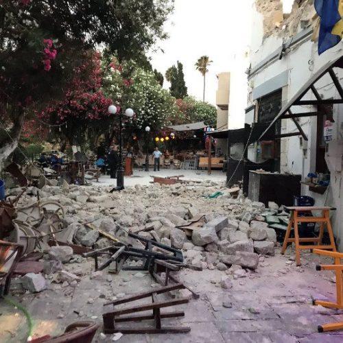 Εικόνες βιβλικής καταστροφής στην Κω - Σεισμός 6,4 Ρίχτερ με δύο  νεκρούς - Φώτο - Βίντεο