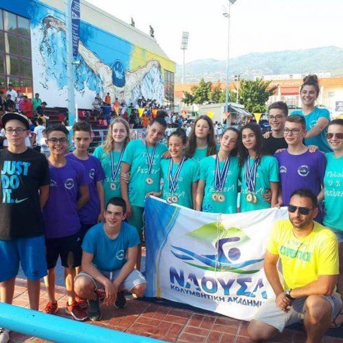 """Κολυμβητική Ακαδημία """"Νάουσα"""" κάθε χρόνο ψηλότερα"""