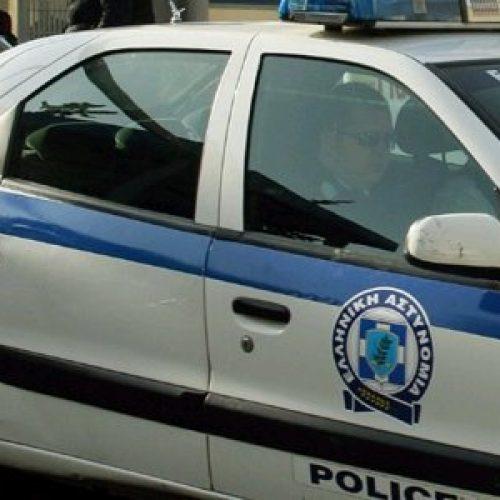 Σύλληψη για ηρωίνη στην Ημαθία περιπολικό