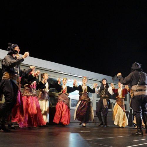 Η Εύξεινος Λέσχη  Νάουσας στο 2ο Φεστιβάλ Παραδοσιακών Χορών Τήνου