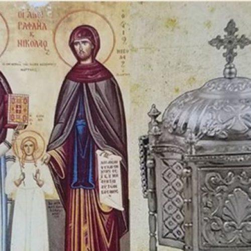 Υποδοχή των λειψάνων των Αγίων Ραφαήλ, Νικολάου και Ειρήνης στην Πατρίδα Βέροιας, Παρασκευή 21 Ιουλίου