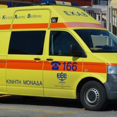 Θανάσιμος τραυματισμός σε εργατικό ατύχημα