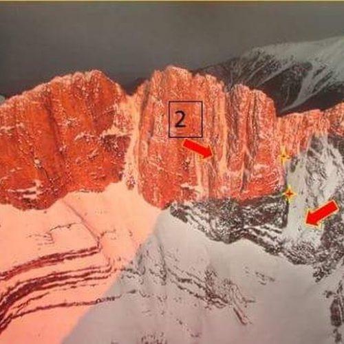 Σε εξέλιξη επιχείρηση απεγκλωβισμού ορειβάτη στα Καζάνια του Ολύμπου