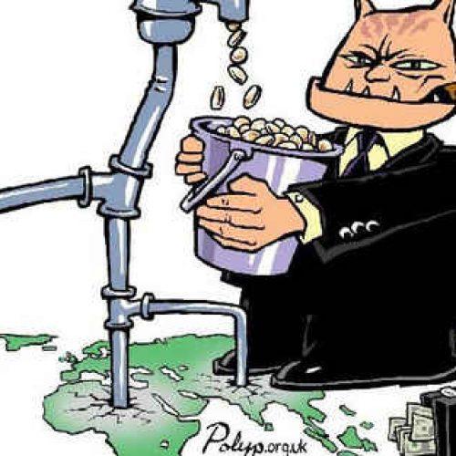 """""""Μια ολοένα πιο ανεύθυνη Ένωση - H ιδιωτικοποίηση του νερού στην Ελλάδα"""" γράφει ο  Γιώργος Βασσάλος"""