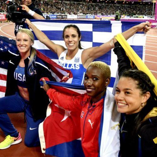"""Παγκόσμια Πρωταθλήτρια η Στεφανίδη! -To """"χρυσό"""" άλμα στο Παγκόσμιο Πρωτάθλημα Στίβου!"""
