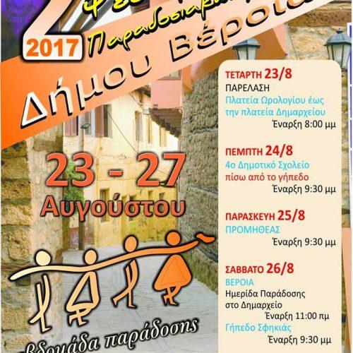 2ο Φεστιβάλ Παραδοσιακών Χορών Δήμου Βέροιας – 1η συνάντηση εθελοντών