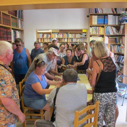 Συνάντηση Πολιτιστικού Συλλόγου Κάστρομ Ρωσίας με Π. Σ. Γιαννακοχωρίου