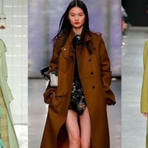 Μόδα: Trendy πανωφόρια και καμπαρντίνες.  Φθινόπωρο 2017 -  Χειμώνας 2018
