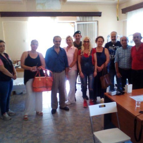 Επίσκεψη στελεχών του ΣΥΡΙΖΑ Ημαθίας στους πρόσφυγες στις Βαρβάρες