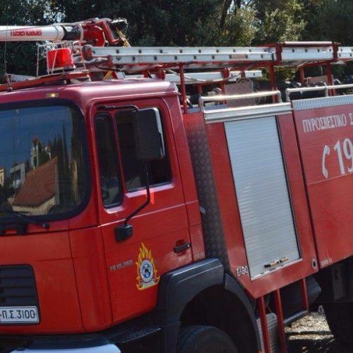 Πυρκαγιά σε μονοκατοικία στη Βέροια  - Κατάσβεση από την Πυροσβεστική Υπηρεσία