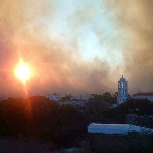 Σκληρή μάχη με τις φλόγες για τέταρτη συνεχόμενη ημέρα στα Κύθηρα – Κρανίου τόπος το νησί (Φώτο - βίντεο)