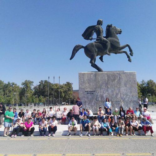 """""""Τα Παιδιά της Άνοιξης""""  στη Θεσσαλονίκη και στο Λευκό πύργο"""