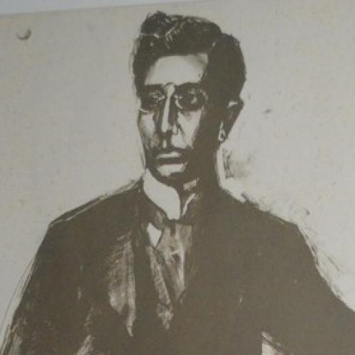 Ο Καβάφης του Τέτση στη συλλογή της Δημόσιας Βιβλιοθήκης Βέροιας