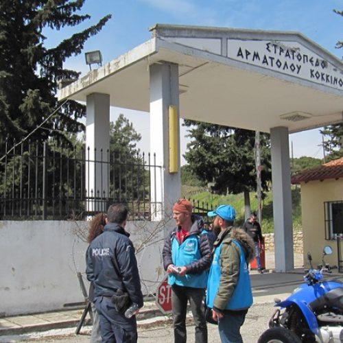 Επίσκεψη του  Υφυπουργού Γ.  Μπαλάφα στις δομές φιλοξενίας προσφύγων  Ημαθίας, Σάββατο 9 Σεπτεμβρίου