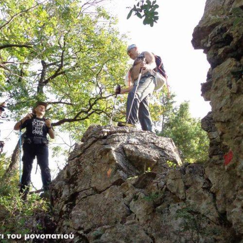 """Στο φθινοπωρινό Βέρμιο, στην περιοχή του Αγ. Νικολάου Νάουσας, η Ορειβατική Ομάδα Βέροιας """"Τοτός"""""""