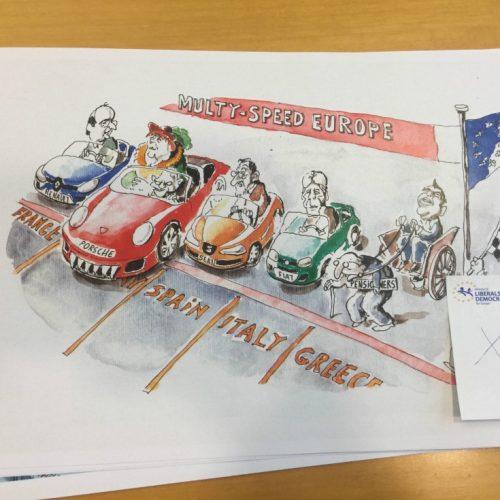 Τα σκίτσα Ελλήνων γελοιογράφων που λογοκρίθηκαν από την ΕΕ - Η ανακοίνωση της Λέσχης  τους