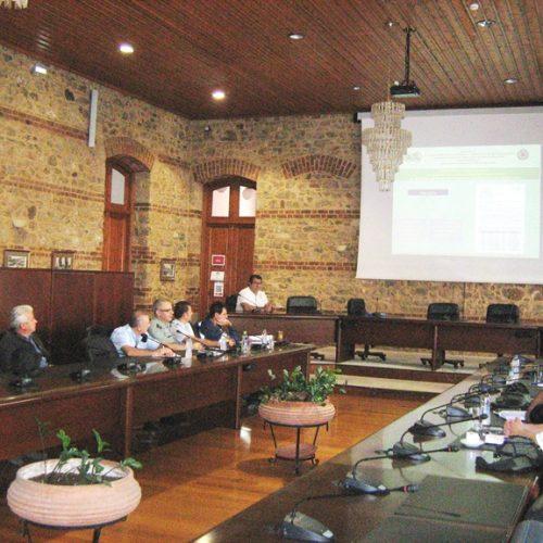 Πραγματοποιήθηκε συνεδρίαση του Συντονιστικού Τοπικού Οργάνου Πολιτικής  Προστασίας Δήμου Βέροιας