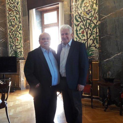 Με τον Πρόεδρο της Βουλής συναντήθηκε ο Γιώργος Ουρσουζίδης