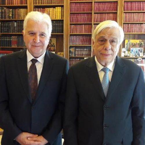 Στον Πρόεδρο της  Δημοκρατίας ο Γ. Ουρσουζίδης