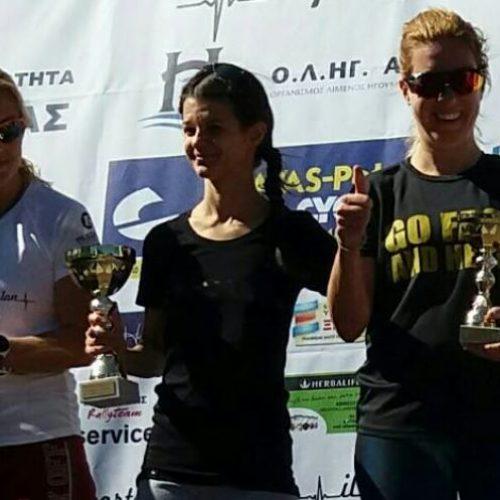 Πρώτη η Πιπελίδου στον αγώνα τριάθλου στην Ηγουμενίτσα