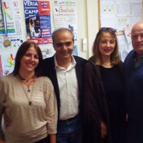 Επίσκεψη κλιμακίου του ΣΥΡΙΖΑ Ημαθίας στο ΚΑΠΑ Δήμου Βέροιας