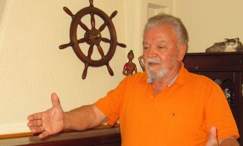 Ο καπετάνιος και αναρριχητής Τάκης Παρτάλας. Ένας αμετανόητος εραστής του κινδύνου και της περιπέτειας