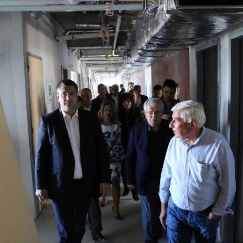 Επίσκεψη - Επιθεώρηση Περιφερειάρχη  Κ. Μακεδονίας στα έργα στο Νοσοκομείο  Βέροιας