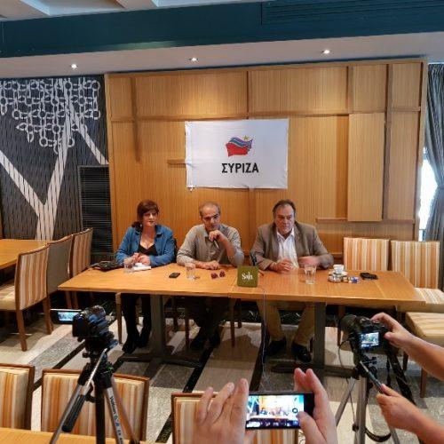 ΣΥΡΙΖΑ Ημαθίας: Η Επίσκεψη του Γ.Γ. του Υπουργείου Εργασίας Ανδρέα Νεφελούδη στη Βέροια
