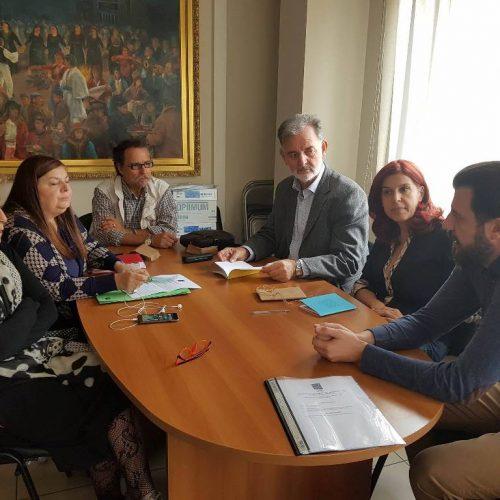 """Συνάντηση προέδρων Δικτύου """"Τα ΔΗΠΕΘΕ της Εγνατίας Οδού"""" στην Κοζάνη"""