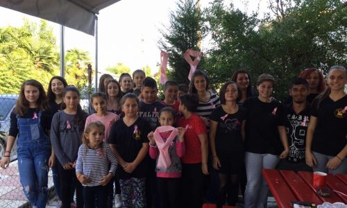 Εκστρατεία ενημέρωσης κατά του καρκίνου του μαστού από την Eύξεινο Λέσχη Χαρίεσσας