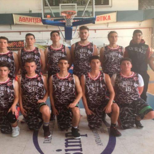 Μπάσκετ: Συνεχίζουν αήττητοι οι έφηβοι του Φιλίππου - Νίκη  επί του AOK Βέροιας