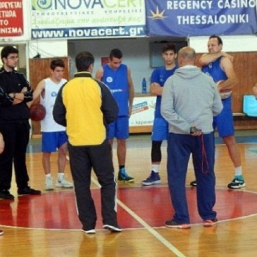Μπάσκετ: Έτοιμος ο ΑΟΚ Βέροιας για το τοπικό ντέρμπι με τον Φίλιππο Βέροιας