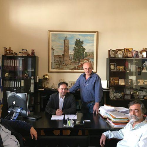 Εργασίες συντήρησης οδών ξεκινάει ο Δήμος Βέροιας  -  Υπογράφτηκαν οι σχετικές συμβάσεις από το Δήμαρχο