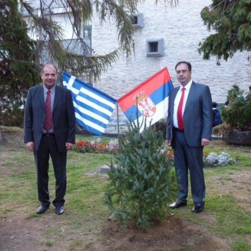 Επίσκεψη Δημάρχου Βέροιας στην αδελφοποιημένη πόλη Ούζιτσε της Σερβίας