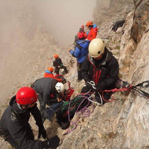 Δραματική προσπάθεια διάσωσης Τσέχου ορειβάτη στον Όλυμπο