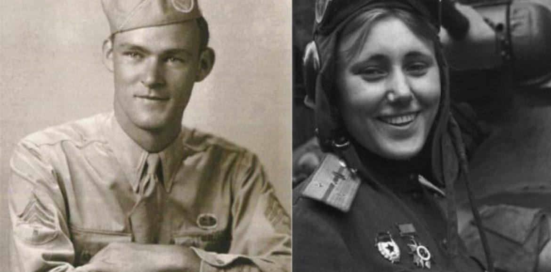 Αμερικάνος φαντάρος πολεμά στο πλευρό του Κόκκινου Στρατού και  ερωτεύεται τη διοικητή του