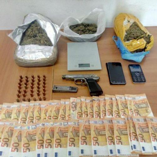 Από το Τ. Ασφάλειας Αλεξάνδρειας συνελήφθη 43χρονος για διακίνηση κάνναβης
