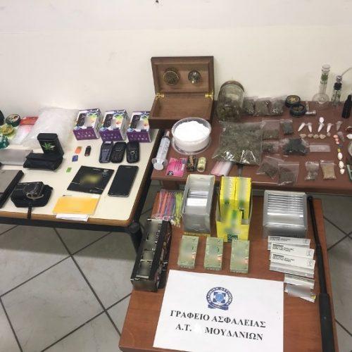 Συλλήψεις για κατοχή και διακίνηση ναρκωτικών ουσιών