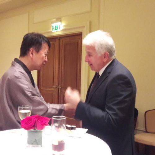 Συνάντηση Γιώργου Ουρσουζίδη με τον Πρέσβη της Ιαπωνίας