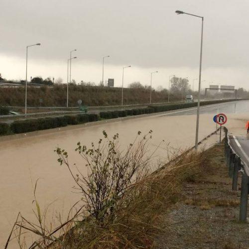Αποκαταστάθηκε η κυκλοφορία στο 430ο χιλιόμετρο της Εθνικής Οδού Αθηνών - Θεσσαλονίκης