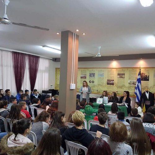 Πραγματοποιήθηκε από την Εύξεινο Λέσχη Χαρίεσσας η ενημέρωση για την πρόληψη της παιδικής σεξουαλικής κακοποίησης