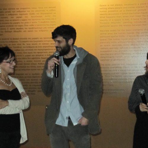 """U-Τόπος"" ή αλλιώς ""Ουτοπία και Ευτοπία"". Εγκαίνια της έκθεσης του Θοδωρή Μαυρίδη στο Βυζαντινό Μουσείο Βέροιας"