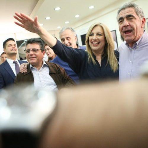 """Θούλη Σιδηροπούλου: """"Η Γεννηματά πήρε καθαρή εντολή για την Νέα Αλλαγή"""""""
