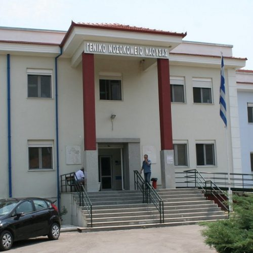 Τρίωρη  στάση εργασίας της ΕΛΜΕ Ημαθίας σε ένδειξη συμπαράστασης στον αγώνα των πολιτών για το Νοσοκομείο Νάουσας
