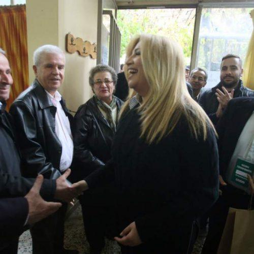 Αρχηγός του νέου κόμματος η Φώφη Γεννηματά