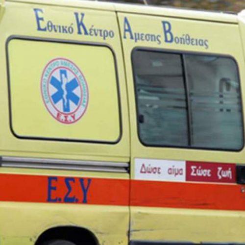 Ένας νεκρός και δύο τραυματίες από μετωπική στο κέντρο της Θεσσαλονίκης