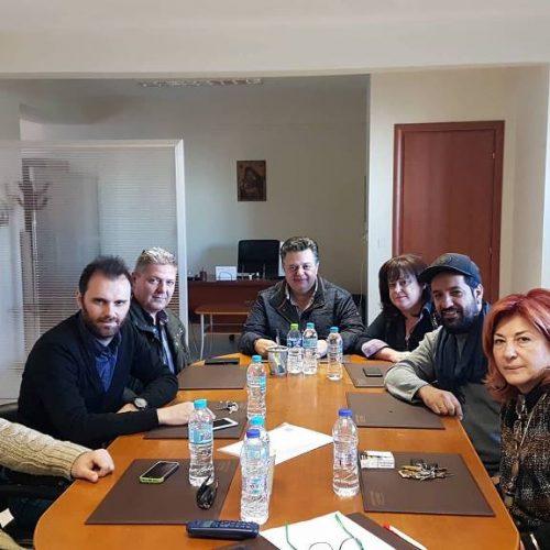 Συνάντηση του Γιώργου Μπίκα με τον Εμπορικό Σύλλογο Βέροιας